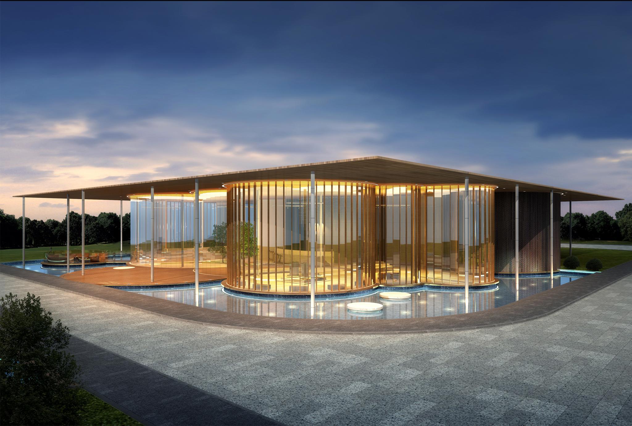 Double Cove Sales Pavilion