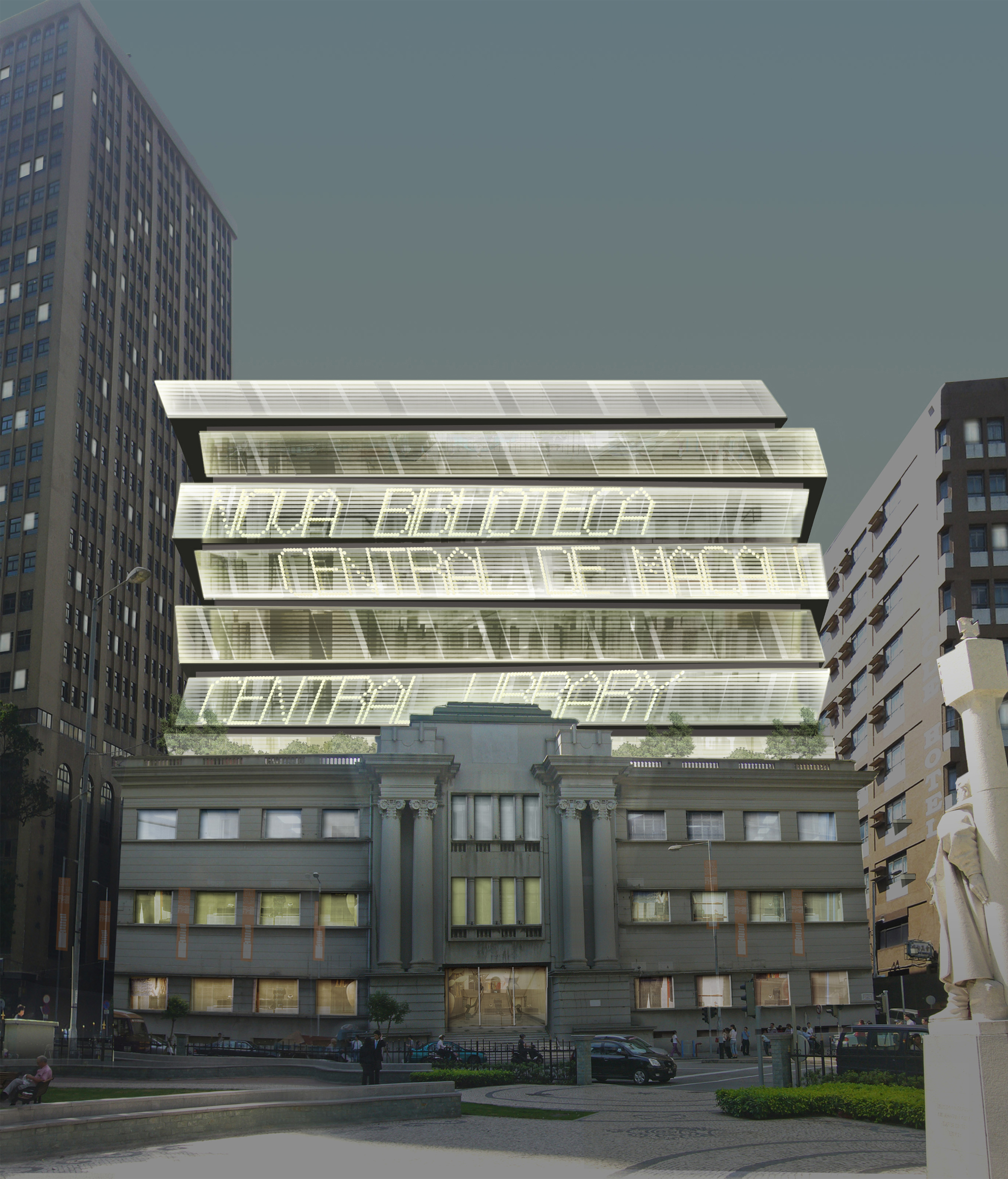 First Prize for Macau Central Library