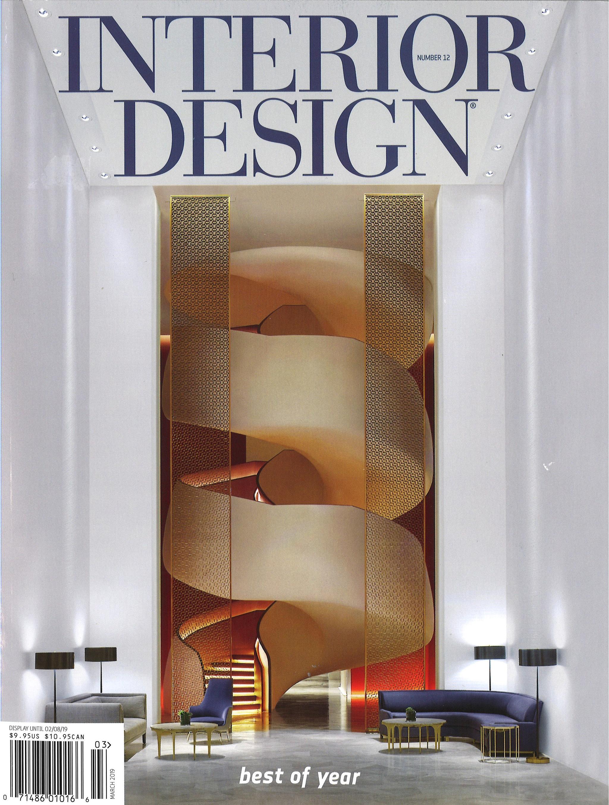 Interior Design Magazine Best of Year Award
