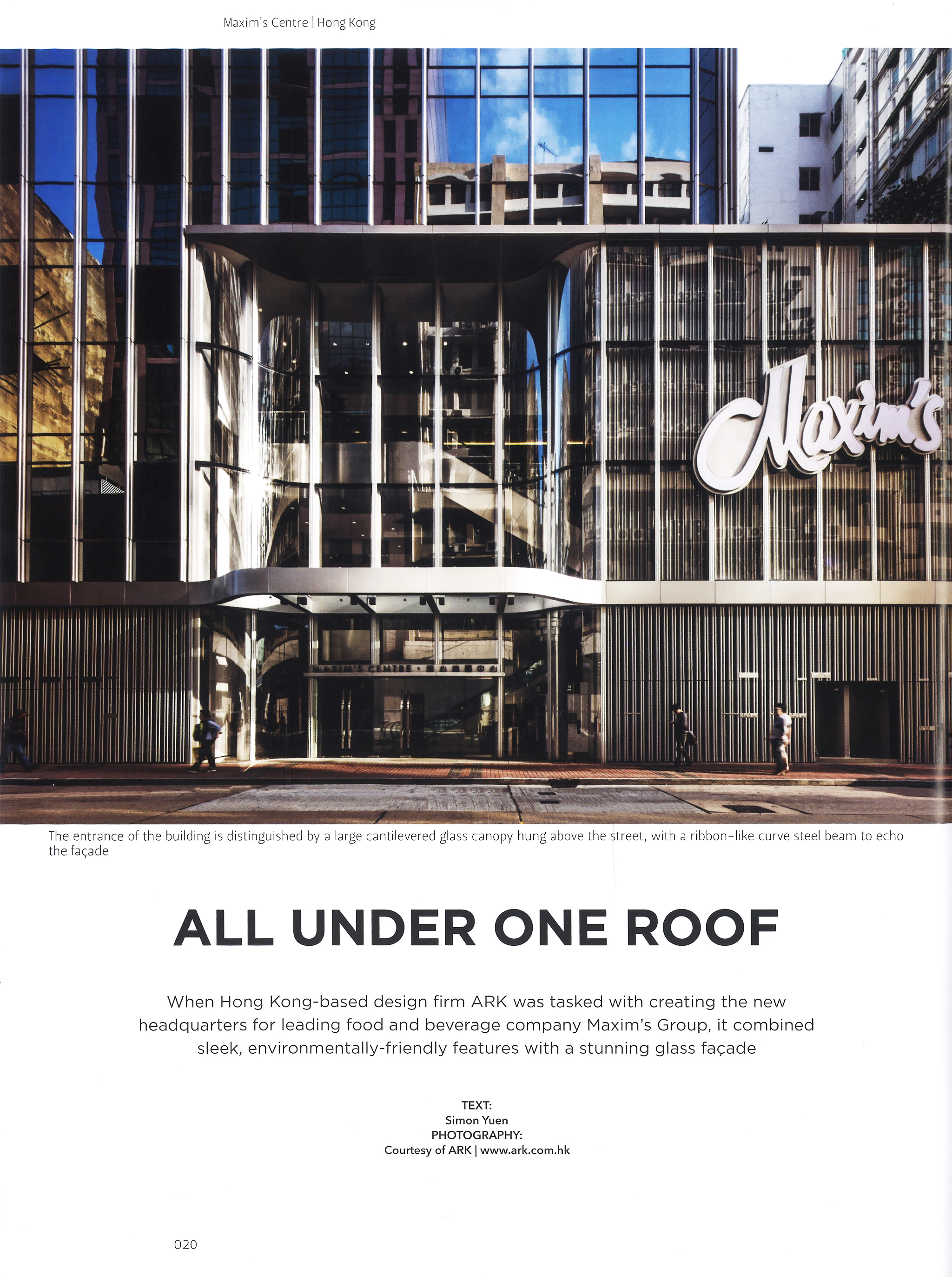 Perspective, 'All Under One Roof'