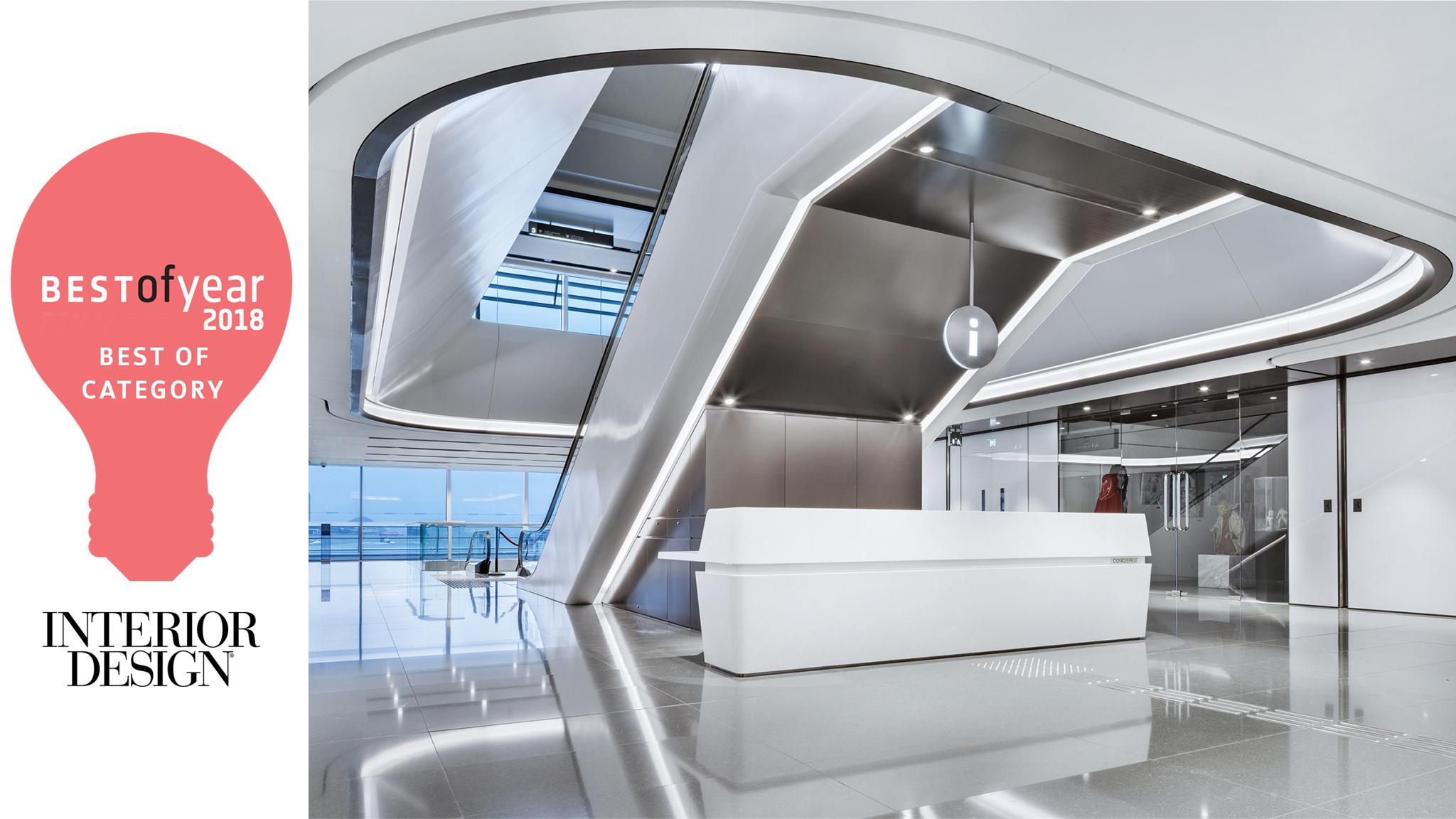 ARK receives USA Interior Design Best of Year Award 2018