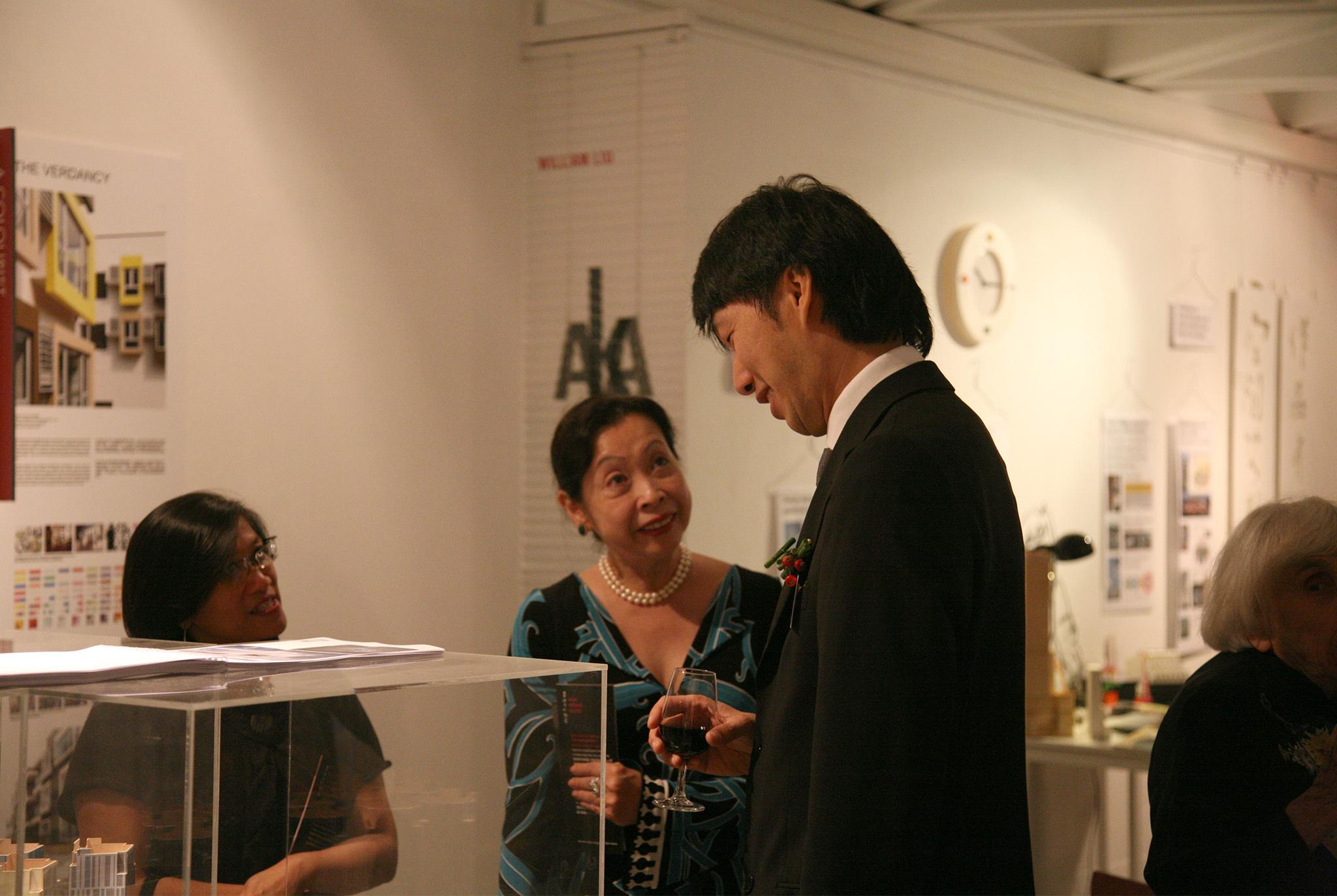 'HIDDEN DIMENSION OF ARCHITECTS', YAA EXHIBITION AT ART CENTER, WANCHAI