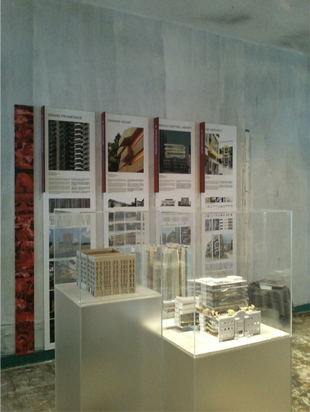 'HIDDEN DIMENSION OF ARCHITECTS', YAA at DeTour Exhibition 2011